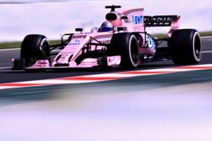 Force India multada después del GP de España