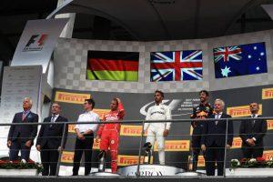 Resumen del GP de Bélgica con la victoria de Hamilton
