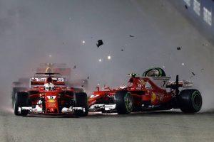 Resultado de la investigación del incidente en el comienzo del GP de Singapur