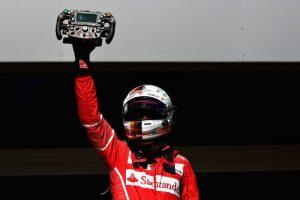 """Sebastian Vettel: """"Esta victoria es muy importante para mí y para el equipo"""""""