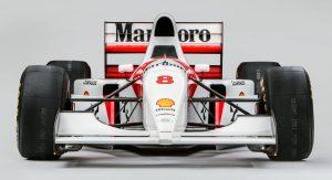 Mclaren MP4/8A de Ayrton Senna sale a subasta