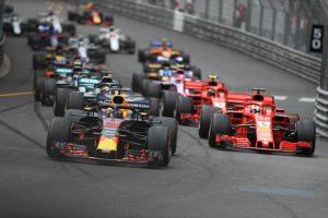 Detalles de la falla del Red Bull de Ricciardo en Mónaco