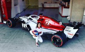 Tatiana Calderón impresionó a muchos luego de sus pruebas con un Fórmula 1 #F1