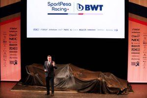 Racing Point presenta su monopaza 2019 #RacingPoint #F1